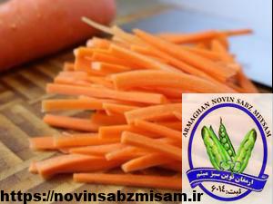 پخش هویج خلالی به تمام نقاط تهران
